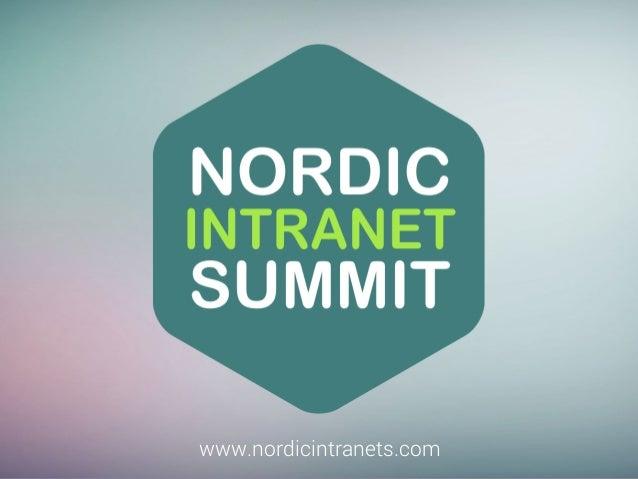 www.nordicintranets.com  www.nordicintranets.com