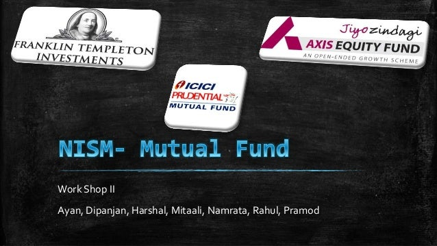 Comparitive study of mutual funds
