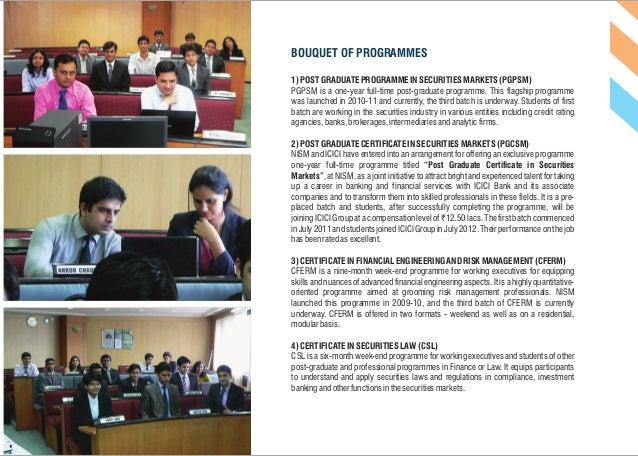 NISM PGPSM Batch 2012-13