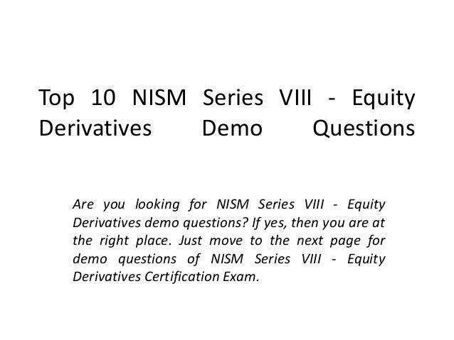 NISM SERIES 8 STUDY MATERIAL PDF DOWNLOAD