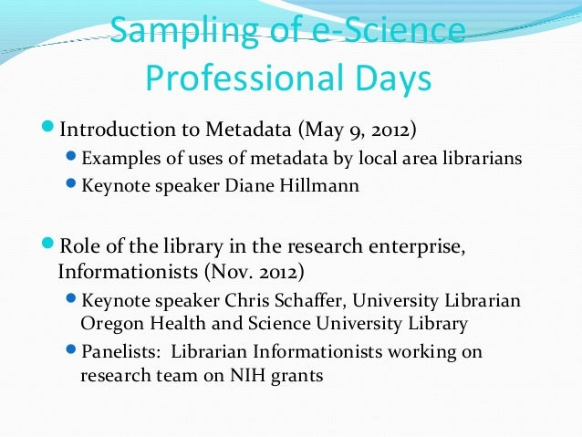 2013 NISO Webinar: Preparing Librarians for New Roles in E ...