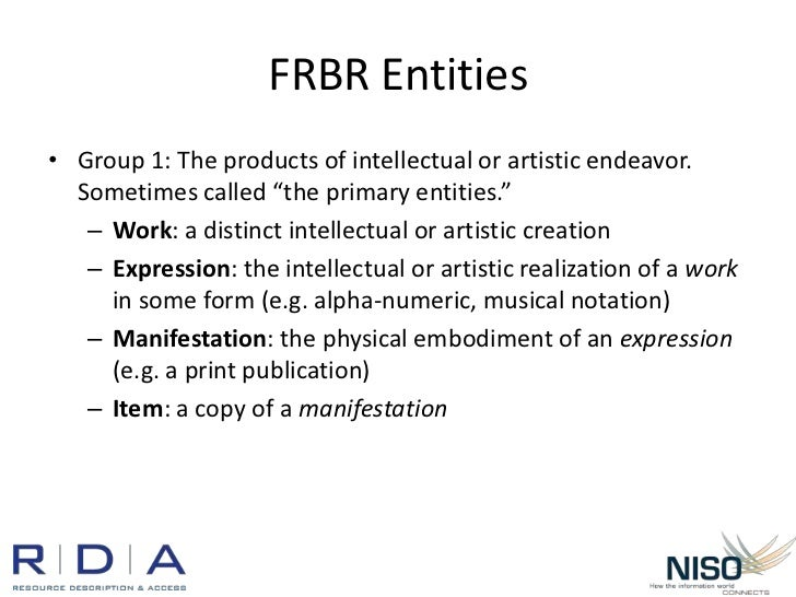 Frbr entities attributes relationships dating 9