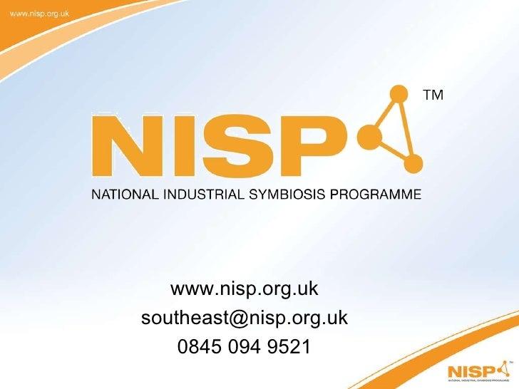 www.nisp.org.uk [email_address] 0845 094 9521