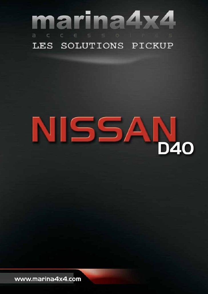 Accessoires 4x4 Nissan D40 Pickup par autoprestige-4x4