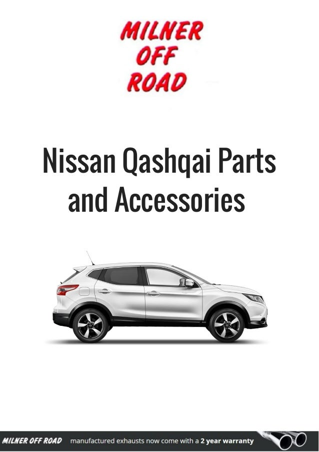 Nissan Qashqai Parts and Accessories Available at Milner