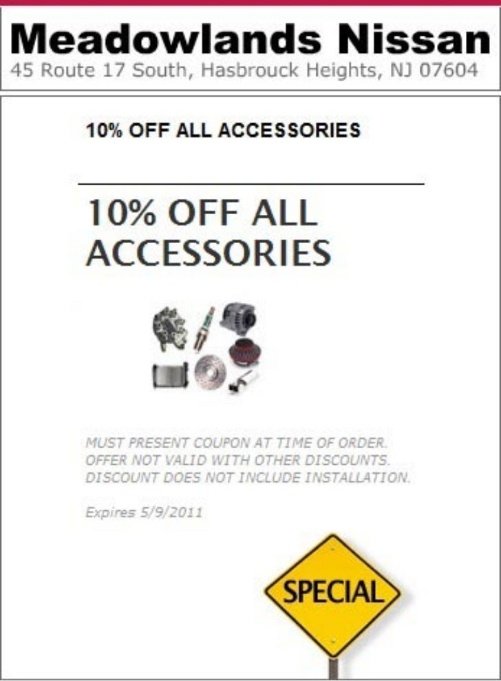 Nissan Accessories Special Bloomfield NJ | Meadowlands Nissan