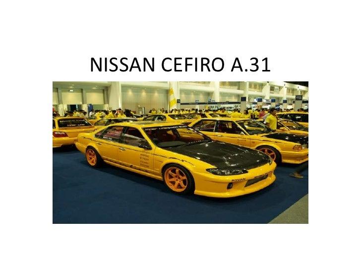 NISSAN CEFIRO A.31