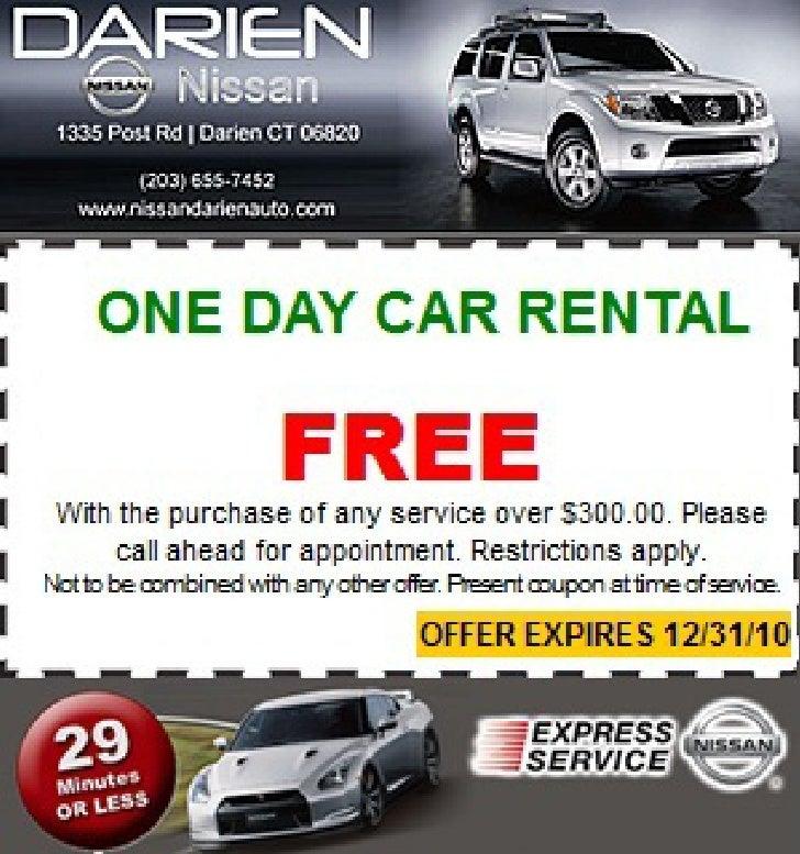 One Day Free Car Rental