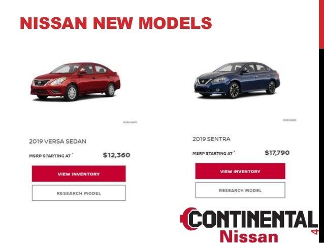 Nissan Dealership Chicago >> Nissan Dealer Chicago Continental Nissan