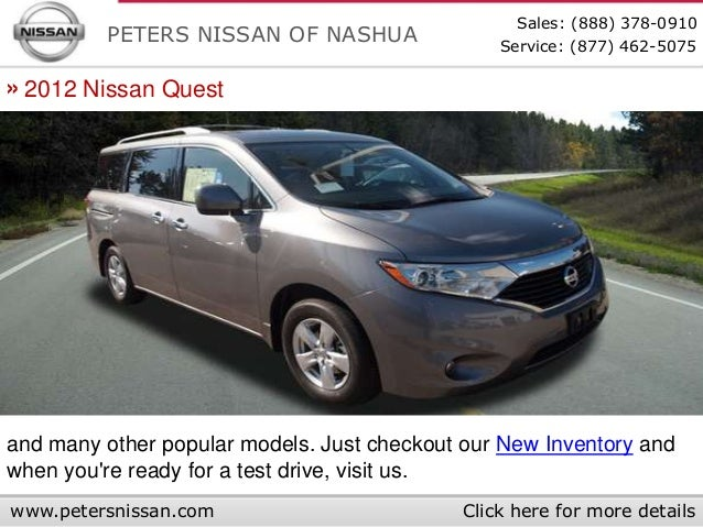 ... 5. Sales: (888) 378 0910 PETERS NISSAN OF NASHUA ...