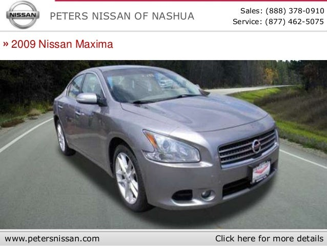... 8. Sales: (888) 378 0910 PETERS NISSAN OF NASHUA ...