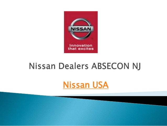 Nissan Dealers In Nj >> Nissan Dealers Absecon Nj