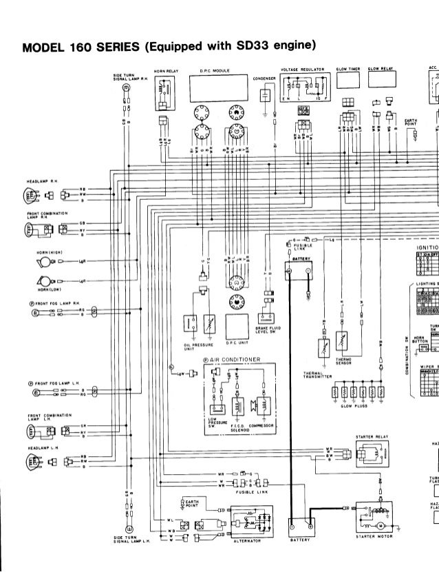 nissan sd33 engine diagram nissan td27 engine wiring