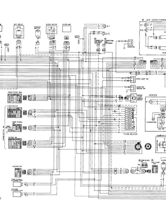 nissan ke light wiring diagram