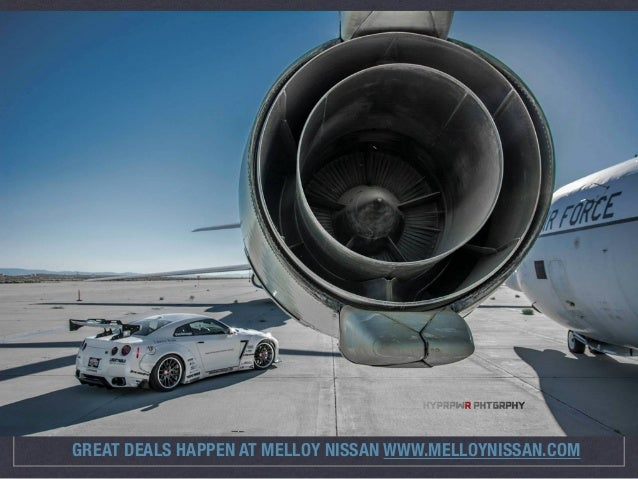 Nissan GT-R + Fighter Jet = One Awesome Photoshoot