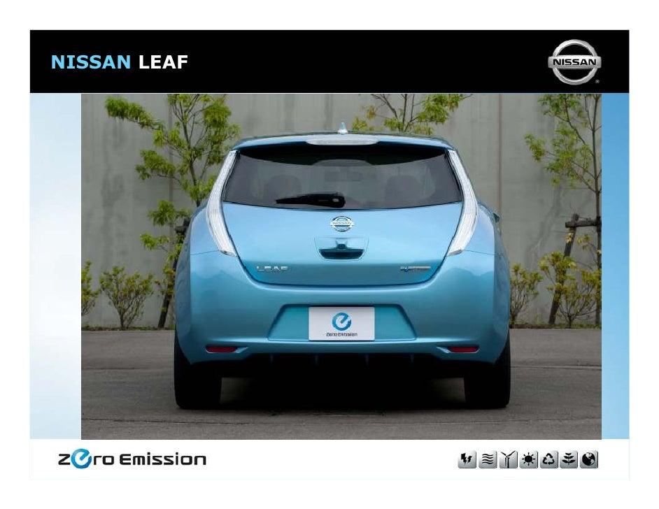 nissan leaf ev zero emission. Black Bedroom Furniture Sets. Home Design Ideas