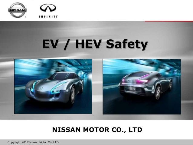Nissan presentation bob yakushi ev hev safety for Nissan motor co ltd