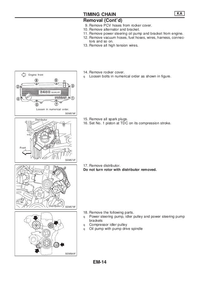 Nissan qd32 engine_service_manual