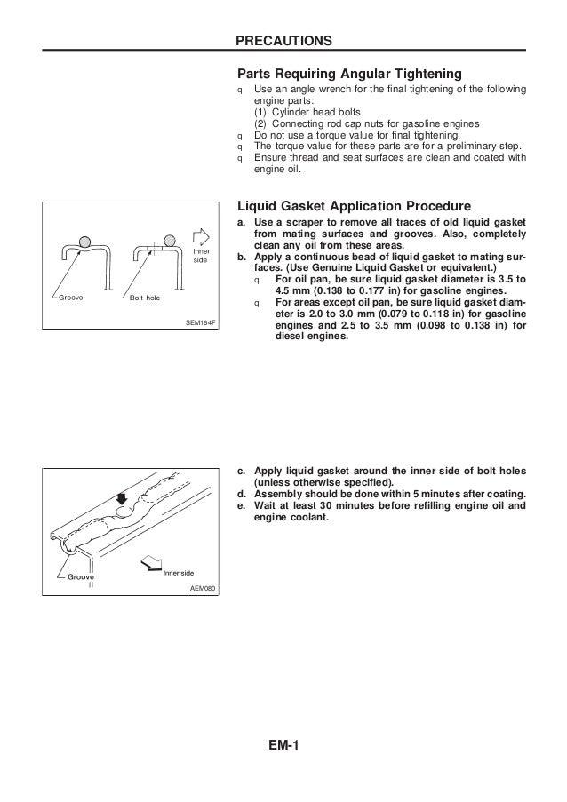 nissan qd32 engine service manual rh slideshare net 2010 Nissan Pathfinder Wiring Diagram nissan qd32 engine wiring diagram