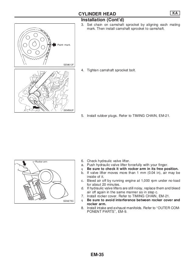 Nissan qd32 engine_service_manual
