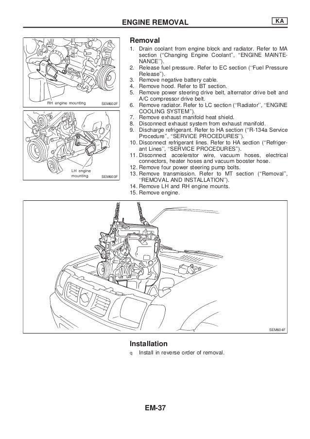nissan qd32 engine service manual rh slideshare net Nissan Wiring Harness Diagram 2010 Nissan Pathfinder Wiring Diagram