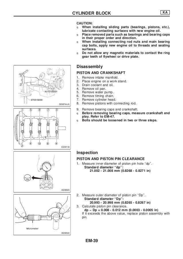nissan qd32 engine service manual rh slideshare net nissan qd32 engine wiring diagram Nissan Stereo Wiring Diagram