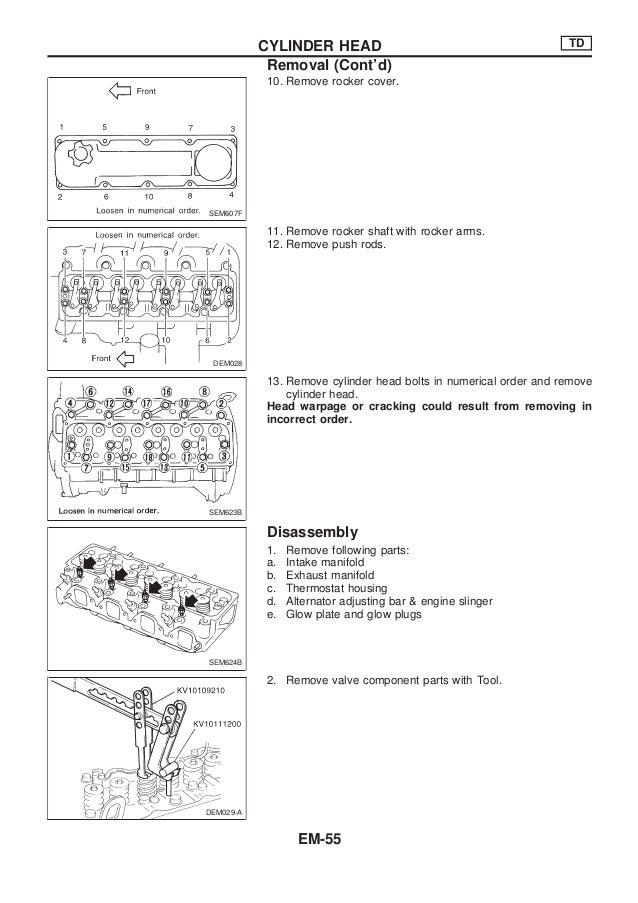 nissan qd32 engine service manual rh slideshare net Nissan Repair Diagrams Nissan Stereo Wiring Diagram