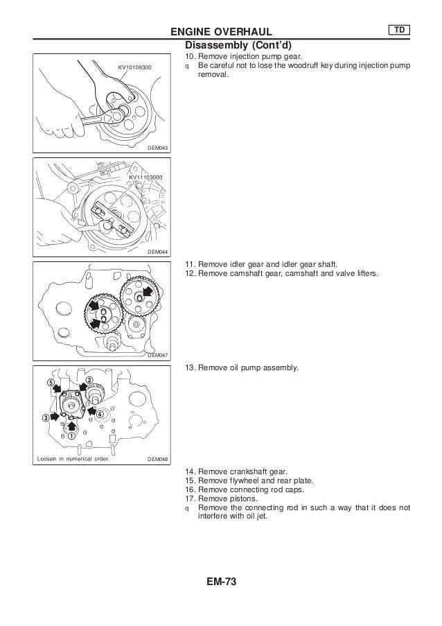 nissan qd32 engine service manual rh slideshare net