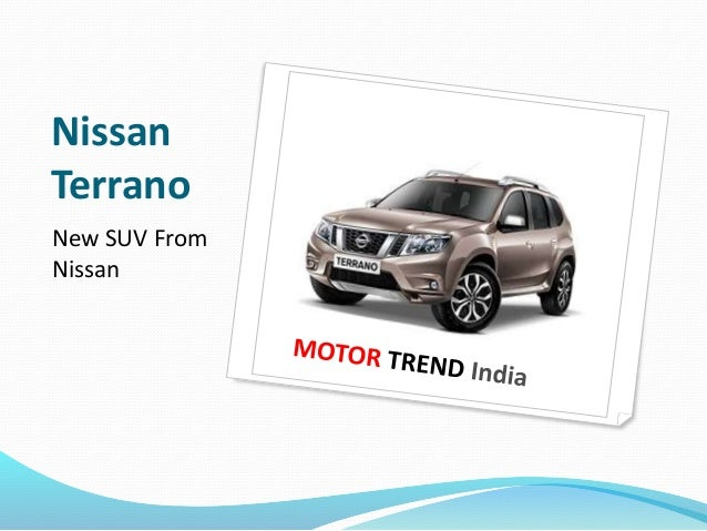 Nissan  Terrano  New SUV From  Nissan