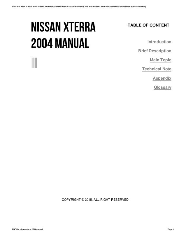 2000 xterra owners manual user guide manual that easy to read