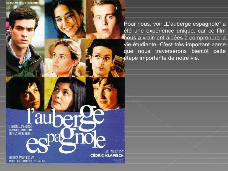 MR Auberge espagnole Slide 2