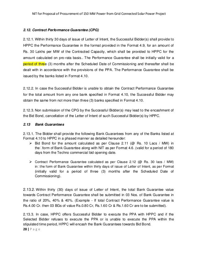 Tender document for procurement of 150mw of solar power from grid con 28 spiritdancerdesigns Gallery