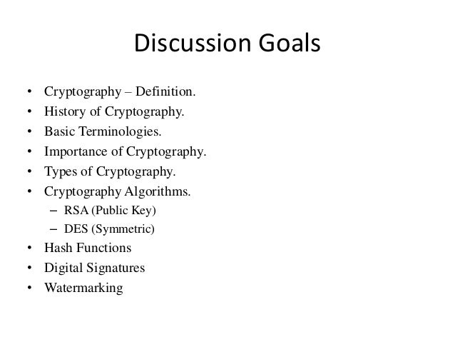 history and importance of crypotography Security and privacy issues for iot are proven targets of great importance this  tutorial brings together models, schemes and implementation aspects, regarding .