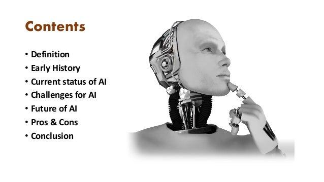 Power Point Presentation on Artificial Intelligence  Slide 2
