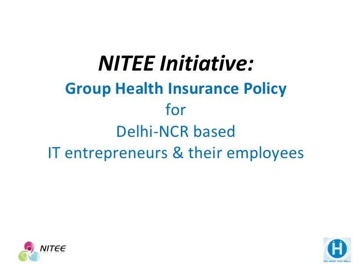 Group Health Insurance for IT Startups of Delhi-NCR