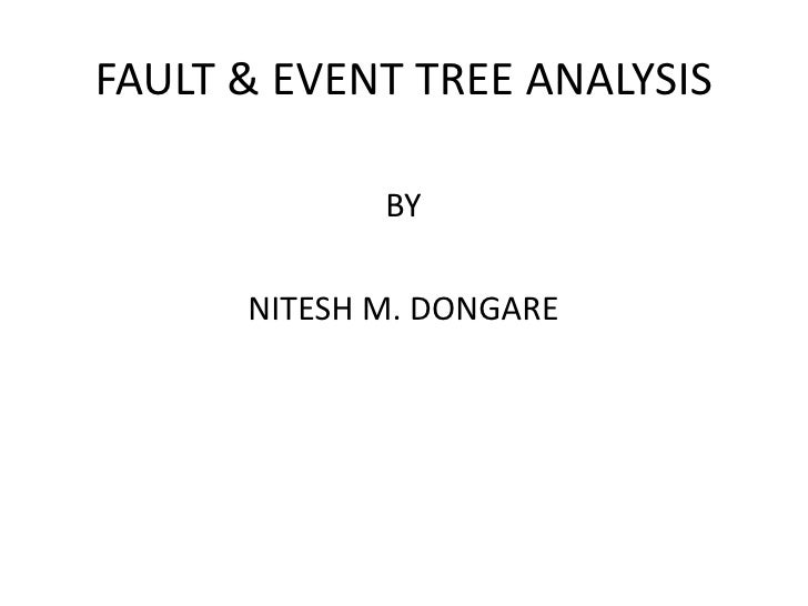 fault tree analysis research papers Call for papers set your sights on • codes and standards research activities • fault tree analysis and system level health management.