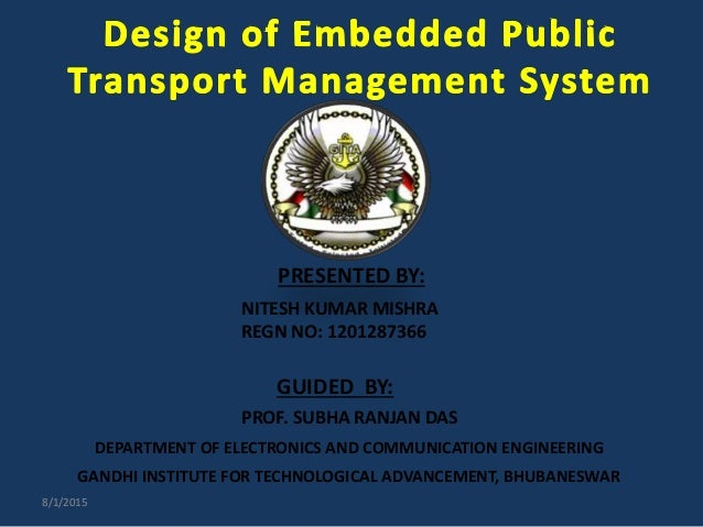 Public Transport System Using Rfid And Gsm