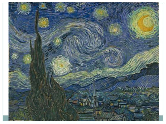 Títol: Nit estrellada Autor: Vincent van Gogh ( Groot Zunder 1853- Anvers - sur - Oise 1890) Cronologia: 1889 Estil: Posti...