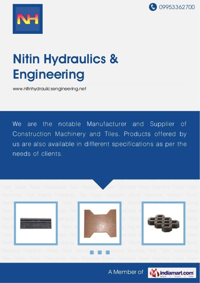 09953362700A Member ofNitin Hydraulics &Engineeringwww.nitinhydraulicsengineering.netWall Tiles Interlocking Tiles Grass P...