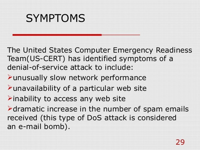 DDoS Attack PPT by Nitin Bisht
