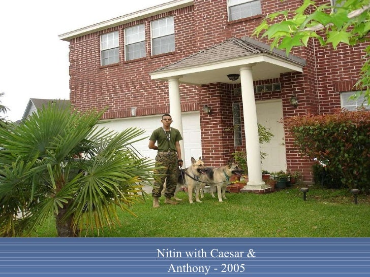Nitin with Caesar & Anthony - 2005