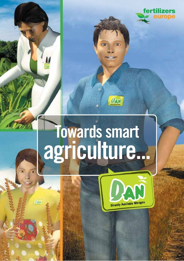 1 Towards smart agriculture... DANDirectly Available Nitrogen