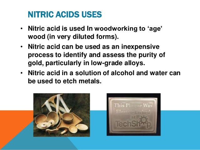how to prepare nitric acid