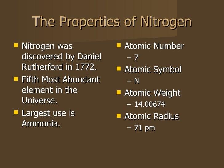Nitrogen Powerpoint