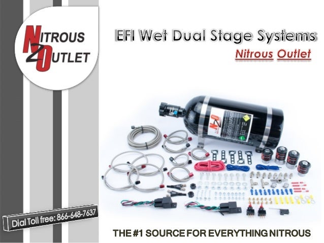 Import EFI Dual Stage- Nitrous Outlet