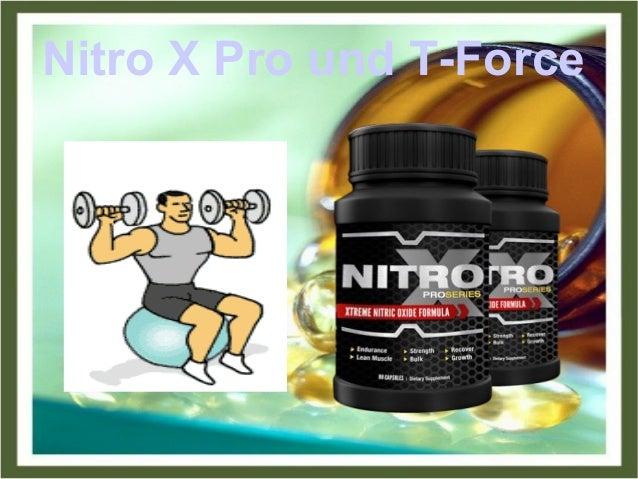 Nitro X Pro und T-Force