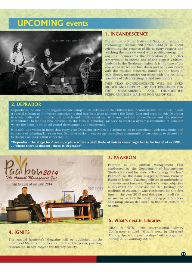 NITScoop: The Quarterly Newsletter of NIT Silchar