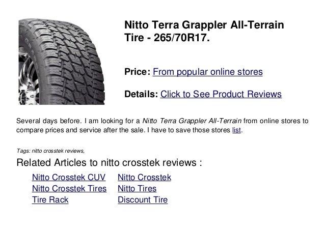 Nitto Crosstek Reviews