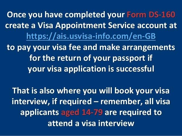 U S  Nonimmigrant Visas: Completing Form DS-160