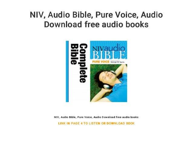 Bible niv version download free